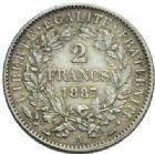 Photo numismatique  MONNAIES MODERNES FRANÇAISES 3ème REPUBLIQUE (4 septembre 1870-10 juillet 1940)  2 francs, Paris 1887.