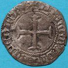 Photo numismatique  MONNAIES BARONNIALES Duché de BRETAGNE JEAN V (1399-1442) Blanc aux 4 mouchetures.
