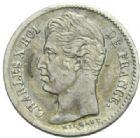 Photo numismatique  MONNAIES MODERNES FRANÇAISES CHARLES X (16 septembre 1824-2 août 1830)  1/4 de franc, Paris 1830.