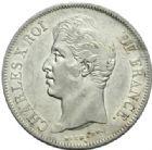 Photo numismatique  MONNAIES MODERNES FRANÇAISES CHARLES X (16 septembre 1824-2 août 1830)  5 francs, Lille 1827.