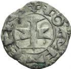 Photo numismatique  MONNAIES BARONNIALES Comté de MELGUEIL Évêché de MAGUELONNE (XIIe-XIIIe siècles) Denier.