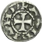 Photo numismatique  MONNAIES BARONNIALES Vicomté d'ALBI ANONYMES (XIe siècle) Denier.