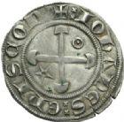 Photo numismatique  MONNAIES BARONNIALES Evêché de VALENCE et de DIE JEAN DE Genève (1285-1297) Gros.