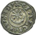 Photo numismatique  MONNAIES BARONNIALES Marquisat de PROVENCE RAYMOND VI et VII (1194-1222 et 1222-1249) Denier.
