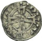 Photo numismatique  MONNAIES BARONNIALES Marquisat de PROVENCE RAYMOND V (1148-1194) Denier.