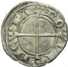 Photo numismatique  MONNAIES BARONNIALES Comté de PROVENCE ALPHONSE Ier et II d'ARAGON (1167-1196-1209) Royal coronat du XIIIe siècle.
