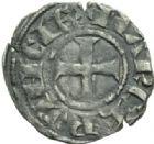 Photo numismatique  MONNAIES BARONNIALES Marquisat de PROVENCE ALPHONSE de France (1249-1271) Denier.