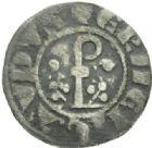 Photo numismatique  MONNAIES BARONNIALES Comté d'URGEL ERMENGAUD X (1267-1314) Denier.