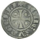 Photo numismatique  MONNAIES BARONNIALES Comté d'URGEL ERMENGAUD X (1267-1314) Denier.