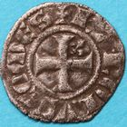 Photo numismatique  MONNAIES BARONNIALES Comté d'ANJOU CHARLES III (1290-1325) Obole.