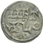 Photo numismatique  MONNAIES BARONNIALES Comté de POITIERS Immobilisation du type de Charles le Simple (vers 930-1100) Obole.