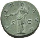Photo numismatique  MONNAIES EMPIRE ROMAIN ANTONIN LE PIEUX (César 138 - Auguste 138-161)  Sesterce frappé à Rome en 140/144.