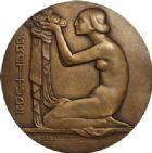 Photo numismatique  MEDAILLES MONNAIES DU MONDE BELGIQUE  La Gratitude.