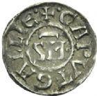 Photo numismatique  MONNAIES BARONNIALES Archevêché de VIENNE ANONYMES (Première moitié du XIIe siècle) Denier.