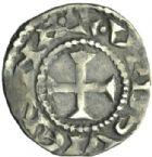 Photo numismatique  MONNAIES BARONNIALES Archevêché de VIENNE ANONYMES (vers 1050-1100) Denier.