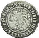 Photo numismatique  MONNAIES BARONNIALES Dauphins du VIENNOIS CHARLES dauphin et roi (1364-1380) Douzain.