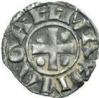 Photo numismatique  MONNAIES BARONNIALES Archevêché de VIENNE ANONYMES (vers 1200-1240) Denier.
