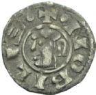 Photo numismatique  MONNAIES BARONNIALES Archevêché de VIENNE ANONYMES (vers 1150-1200) Obole.