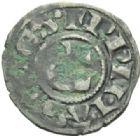Photo numismatique  MONNAIES BARONNIALES Archevêché de LYON ANONYMES (vers 1200-1260) Denier.