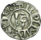 Photo numismatique  MONNAIES BARONNIALES Archevêché de LYON ANONYMES (première moitié du XIIe siècle) Denier.
