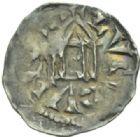 Photo numismatique  MONNAIES BARONNIALES Comté de LYON RODOLPHE III, roi de Bourgogne (993-1032) Obole.