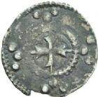 Photo numismatique  MONNAIES BARONNIALES Comté d'AUXERRE (XIIe-XIIIe siècles) Denier à la croix longue.