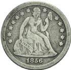 Photo numismatique  MONNAIES MONNAIES DU MONDE ÉTATS-UNIS d'AMÉRIQUE du NORD Depuis 1776 One dime, 1856.