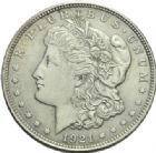 Photo numismatique  MONNAIES MONNAIES DU MONDE ÉTATS-UNIS d'AMÉRIQUE du NORD  Morgan dollar, 1921.