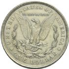 Photo numismatique  MONNAIES MONNAIES DU MONDE ÉTATS-UNIS d'AMÉRIQUE du NORD  Morgan dollar, 1921.