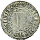 Photo numismatique  MONNAIES MONNAIES DU MONDE ITALIE SICILE, Pierre et Constance (1282-1285) Pierrale frappée à Messine.