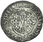 Photo numismatique  MONNAIES MONNAIES DU MONDE ITALIE CASTRO, Pierluigi Farnese (1545-1547) Quaattrino.