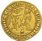 Photo numismatique  MONNAIES MONNAIES DU MONDE ITALIE NAPLES, Charles Ier d'Anjou (1246-1285) Salut d'or, Naples  après 1278.