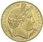 Photo numismatique  MONNAIES MODERNES FRANÇAISES 3ème REPUBLIQUE (4 septembre 1870-10 juillet 1940)  10 francs or, Paris 1896.