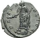 Photo numismatique  MONNAIES EMPIRE ROMAIN HELENE (mère de Constantin le Grand)  Follis réduit frappé à Arles avant avril 340.
