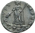 Photo numismatique  MONNAIES EMPIRE ROMAIN HELENE (mère de Constantin le Grand)  Follis réduit, frappé à Trèves avant avril 340.