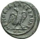 Photo numismatique  MONNAIES EMPIRE ROMAIN CLAUDE II LE GOTHIQUE (268-270)  Quinaire frappé sous Constantin, en 317/318.