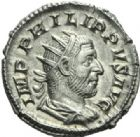 Photo numismatique  MONNAIES EMPIRE ROMAIN PHILIPPE Ier (244-249)  Antoninien.