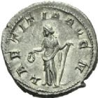 Photo numismatique  MONNAIES EMPIRE ROMAIN GORDIEN III (César 238 - Auguste 238-244)  Denier.