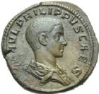 Photo numismatique  MONNAIES EMPIRE ROMAIN PHILIPPE II (César 244-247 - Auguste 247-249)  Sesterce frappé à Rome en 244/246.