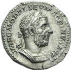 Photo numismatique  MONNAIES EMPIRE ROMAIN MACRIN (217-218)  Denier.