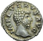 Photo numismatique  MONNAIES EMPIRE ROMAIN LUCIUS VERUS (161-169)  Denier frappé vers 162/163.