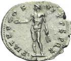 Photo numismatique  MONNAIES EMPIRE ROMAIN TRAJAN (98-117)  Denier frappé en 114/117.