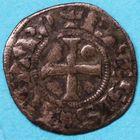 Photo numismatique  MONNAIES BARONNIALES Comté de BLOIS JEANNE (1279-1292) Obole.