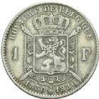 Photo numismatique  MONNAIES MONNAIES DU MONDE BELGIQUE ROYAUME, Léopold II. (1865-1909) 1 Franc du cinquentenaire, 1880.