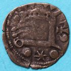 Photo numismatique  MONNAIES BARONNIALES Comté de BLOIS HUGUES (1292-1303) Obole.
