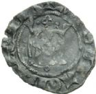 Photo numismatique  MONNAIES BARONNIALES Principauté d'ORANGE RAYMOND V (1340-1393) Demi carlin.