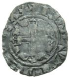 Photo numismatique  MONNAIES BARONNIALES Principauté d'ORANGE RAYMOND V (1340-1393) Demi carlin.