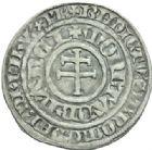 Photo numismatique  MONNAIES BARONNIALES Duché de LORRAINE RENE Ier (1419-1480) Gros de Nancy.
