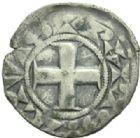 Photo numismatique  MONNAIES ROYALES FRANCAISES LOUIS VII (1er août 1137-18 septembre 1180)  Obole frappé à Paris.