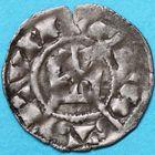Photo numismatique  MONNAIES BARONNIALES Seigneurie de SAINT-AIGNAN ANONYMES (Xie siècle) Denier.